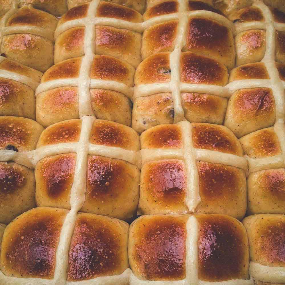 Easter Hot X Buns